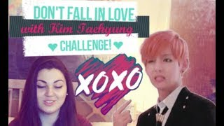Don't Fall In Love With KIM TAEHYUNG (뷔 BTS) Challenge! REACTION