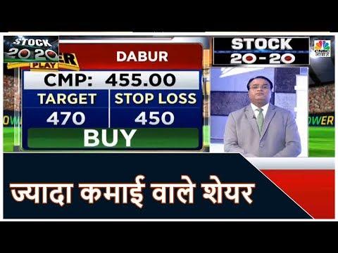 Stock Market News: आज की सबसे ज्यादा कमाई वाले 20 शेयर | Stock 20-20 | October 15, 2019