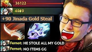 MIRACLE 10K IMBA GOLD STEAL - Bounty Hunter 7.20 META Fun Dota 2 Gameplay