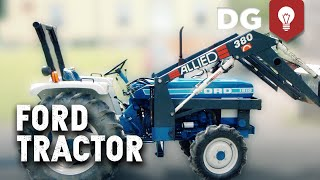 Death By Clutch! Ford Tractor Hard Start