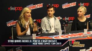 Star Wars Rebels | New York Comic-Con 2015 (08.10.15) #1