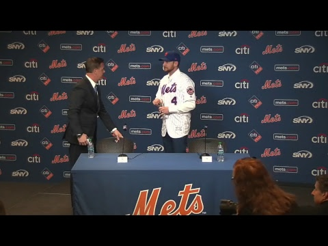 Watch live as we welcome Jed Lowrie to New York.