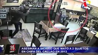 Asesinan a sicario que mató a dos sujetos en Callao en 2013
