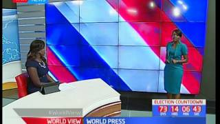 World View - 26th May 2017 -  World Press with Trix Ingado