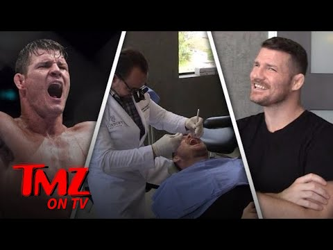 Michael Bisping – All Mouth! | TMZ TV