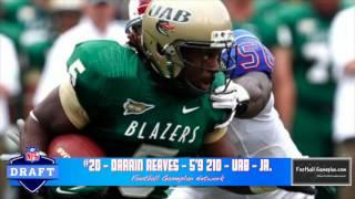 Gambar cover Football Gameplan's 2014 NFL Draft Prospect Rankings - Running Backs