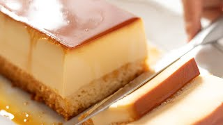 Cream Cheese Custard Pudding Cake - Cheesecake Flan クリームチーズ・プリンケーキの作り方|HidaMari Cooking