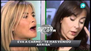 Cara A Cara De Eva Turégano Y Carme Barceló.