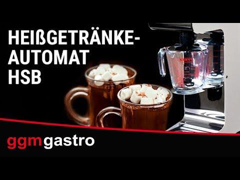 Heißgetränkeautomat HSB - GGM Gastro