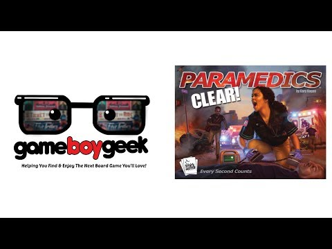 The Game Boy Geek Reviews Paramedics: Clear!