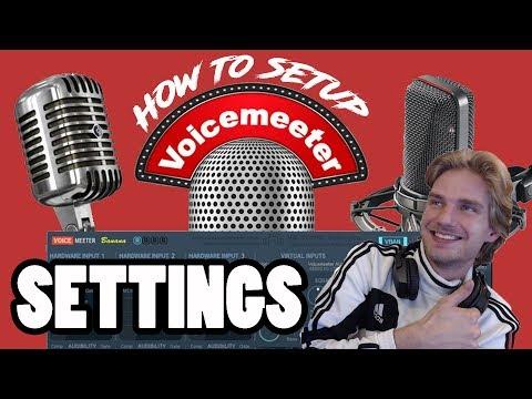 How To Setup Voicemeeter Banana Settings!! - TheFranswah