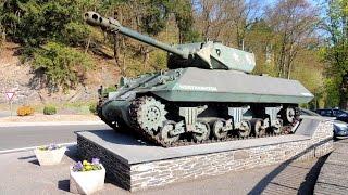 Recorrido por La Batalla de las Ardenas en Valonia - Bélgica