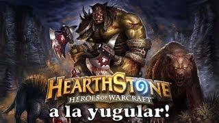 tutorial hearthstone - cazador rush deck - a la yugular!