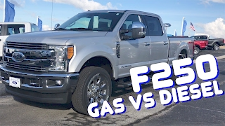 2017 Ford F250 Gas vs Diesel - Which one do you REALLY need?