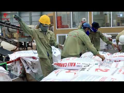 Chủ Tịch Tỉnh Bình Định Hồ Quốc Dũng thăm tình hình sản xuất tại nhà máy phân bón Nhật - Nam