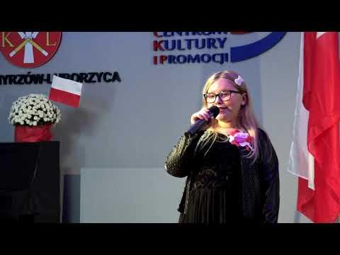 Występy artystyczne wokalistek Centrum Kultury i Promocji z okazji Święta Niepodległości 2020