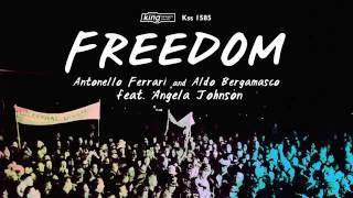 Antonello Ferrari & Aldo Bergamasco feat  Angela Johnson - Freedom(Main Mix)