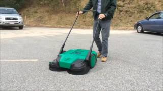 Bissell Commercial Push Power Sweeper