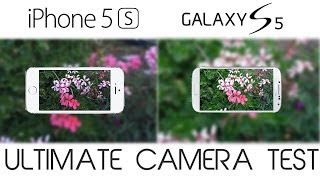Galaxy S5 vs iPhone 5S - Ultimate Camera Test