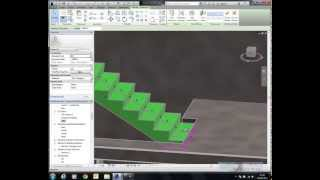 Revit 2014   Architectural Stairs to Structural Stairs