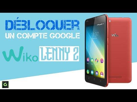 Download D Bloquer Un Compte Google Wiko Lenny 2 Sans Pc Sans Otg