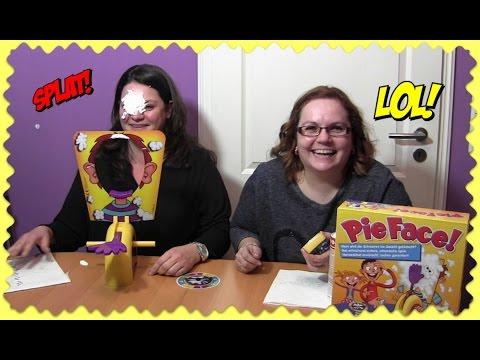 PIE FACE CHALLENGE ! - Wer bekommt die Sahne ins Gesicht geklatscht? | Hasbro Rocket Games