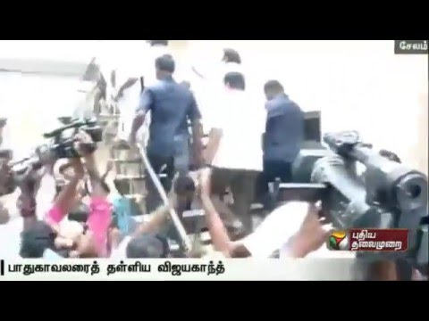 Vijayakanth-venting-his-anger-at-the-security-personnel