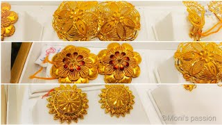 Huge Collection Of Gold Top Earrings Designs/gold Tops/gold Earrings/#jewellery