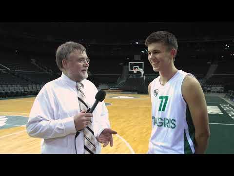 EB ANGT Kaunas Interview: MVP Kerr Kriisa, U18 Zalgiris Kaunas
