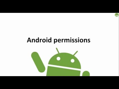 ‪32- Xamarin Android Runtime Permissions سماحيات الوصول‬‏