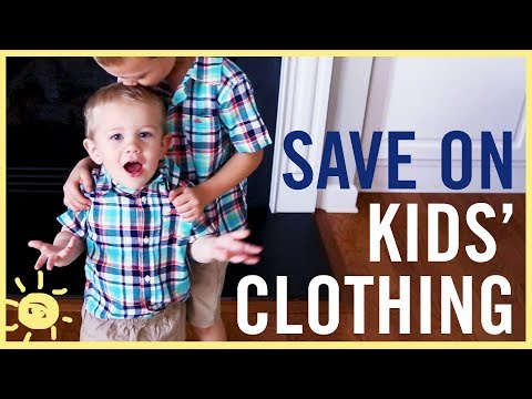 BUDGET | Save $$$ On Kids Clothing!!