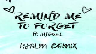 Kygo   Remind Me To Forget Ft. Miguel (Hjalm Remix)
