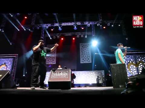 REPORTAGE LIVE DE MASTA FLOW A MAWAZINE 2013 - HIT RADIO