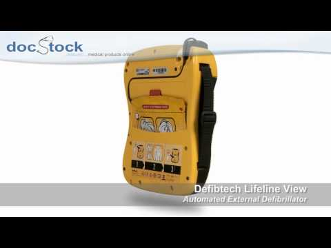 Lifeline View AED with LCD Screen | Defibtech