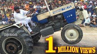 Swaraj 735 Atiana  Vs Sawraj 855 ਟਰੈਕਟਰ ਟੋਚਨ Traktor Tochan Sudhar 2016