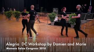 Workshop au Monaco Salsa Congress 2018