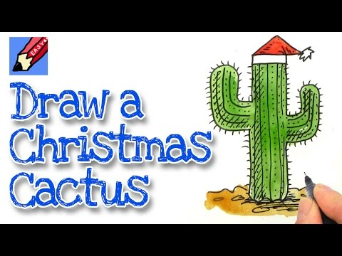 How To Draw A Christmas Cactus Shoo Rayner Author