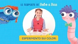 Esperimenti con i colori per bambini da fare in casa | Le scoperte di Bebo e Bice