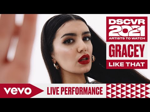 GRACEY, Alexander 23 - Like That (Live ) | Vevo DSCVR Artists to Watch 2021