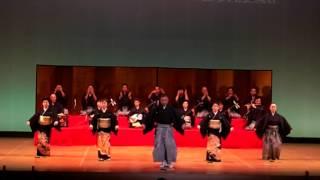 「輪島まだら」保存会演舞-あいの風2013-
