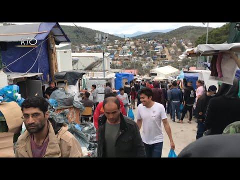 Covid-19 : De Lesbos, l'alerte du père Joyeux