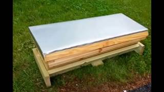Top Bar Hive W/Langstroth Adapter