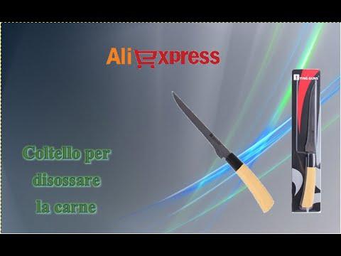 Aliexpress unboxing (100) - Coltello da cucina per disossare la carne / kitchen knife to bone meat