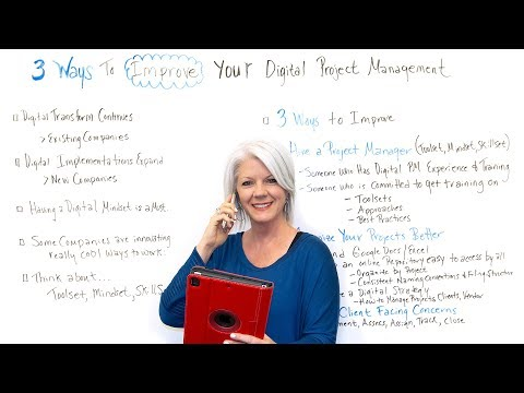 3 Ways to Improve Your Digital Project Management - Project ...