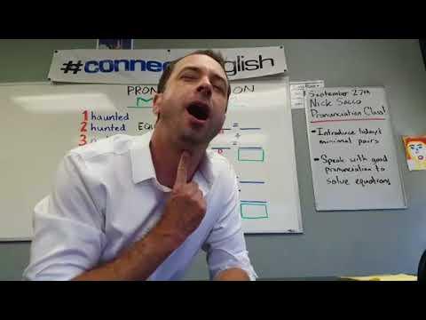Connect English Pronunciation Math, Volume 3 - La Jolla Campus