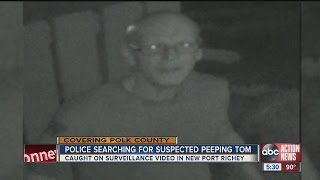 Caught on video: Woman confronts peeping tom