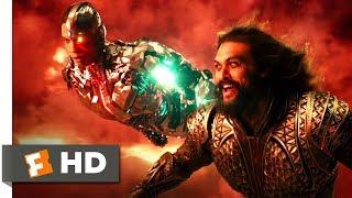 Justice League (2017) - Superhero Team Up Scene (7/10) | Movieclips