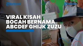 Viral Kisah Unik Bocah Bernama ABCDEF GHIJK Zuzu, Berawal dari Isi TTS sang Ayah saat Masih Bujang