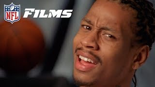 Allen Iverson Reacts To His High School Football Highlights (He A Was A GOAT in 2 Sports?)