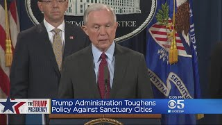 Justice Department Rules Intensify Crackdown On Sanctuary Cities